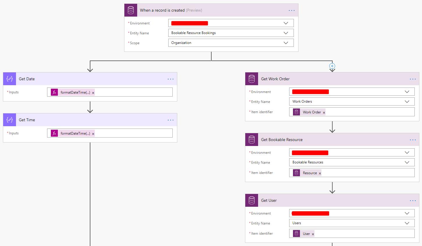 Using Microsoft Flow and TFL API to retrieve Travel Time